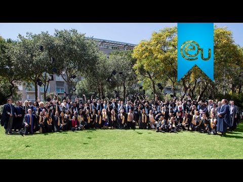 EU Graduation in Barcelona 2015 - EU Business School Barcelona, Spain