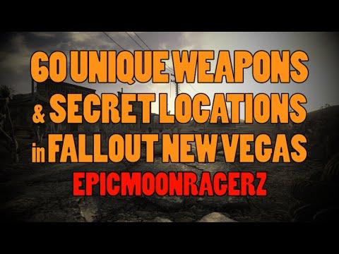Fallout New Vegas - 60 Unique Weapons and Secret Locations!