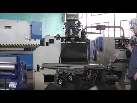 CLAUSING ATLAS SUP4BVS40 VERTICAL BED MILL