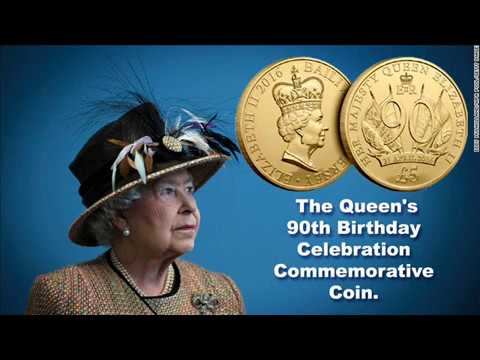 Most Exclusive Video, Historical Lady Queen Elizabeth II 90th. Birthday Coin.