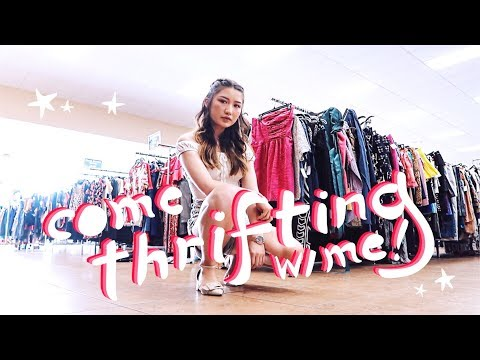 a lil thrifting adventure + try on haul
