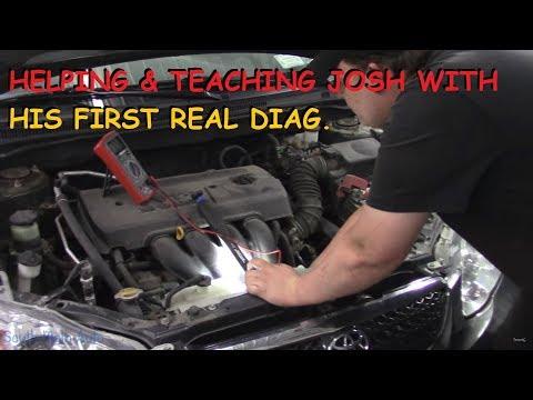 Helping & Teaching Josh Through His First Basic Diag.