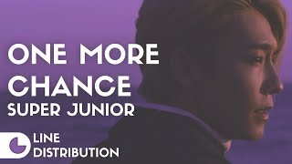 Super Junior - One More Chance | Line Distribution
