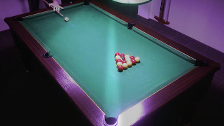 8ème cassé fermé (billard 8 pool anglais blackball)