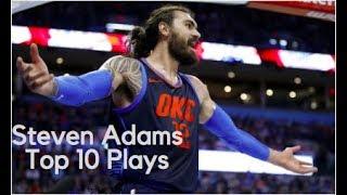 NBA Steven Adams top 10 plays
