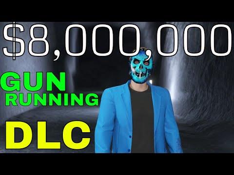 $8,000,000 GTA V GUN RUNNING