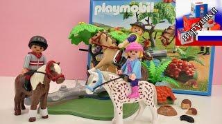 Конная прогулка Playmobil 6947 распаковка(подпишись на новые видео: http://www.youtube.com/channel/UCJDn33Ycp1GFc2By4ec0Bzg?sub_confirmation=1 Playlist: ..., 2016-03-26T09:00:01.000Z)