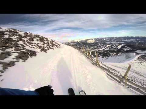 Skiing THE GULLIES At Big Sky, Montana
