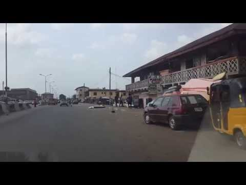 2016 11 16 DRIVING IN BENIN CITY, EDO STATE