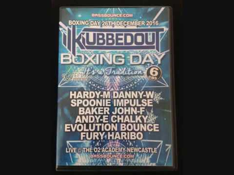 KlubbedOut - Boxing Day 2016 - CD 1