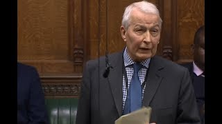 Frank Field debates on EU Withdrawal Bill, The Commons (Nov 14, 2017)