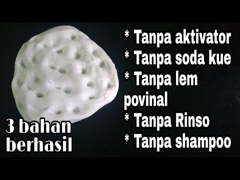 Cara Membuat Slime Hanya 3 Bahan Baru