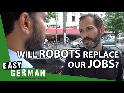 Download Youtube: Will robots replace our jobs? | Easy German 207