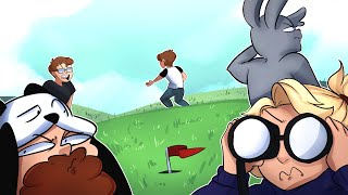 The Smallest Hole EVER! + Ohm is Confused! - GOLF IT FUNNY MOMENTS