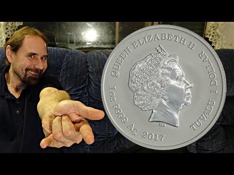 Tuvalu 1 Dollar 2017 Spiderman Coin