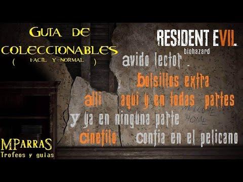 Resident Evil 7: Biohazard - Guía de coleccionables (Dificultad fácil o normal) / 6 trofeos