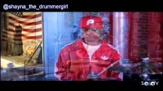 SHAYNA GARRETT a.k.a  First Lady Shay - Spectacular Drum Performance