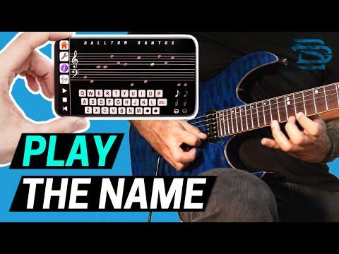 'Play The Name' - App que Toca as Notas do Seu Nome! 🎼