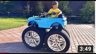 يريد Senya وضع عجلات ضخمة على سيارة