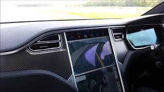 THRILLING EXPERIENCE THE LUDICROUS MODE IN TESLA MODEL X