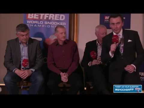 LIVE | World Snooker Fans Forum with Barry Hearn, Steve Davis and John Parrott