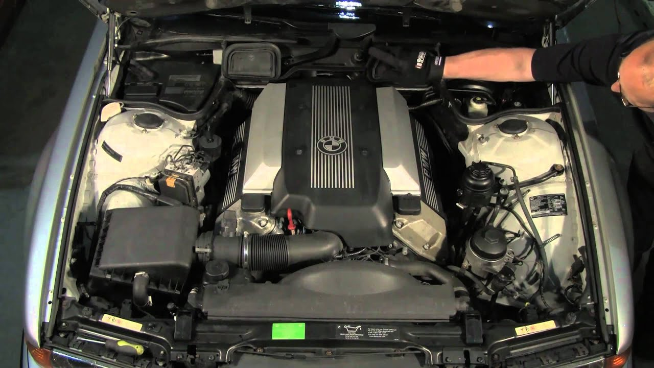 Bmw E38 Wiring Diagram 2001 Mustang V6 Radio Under The Hood Of A 7 Series '95 Thru '01 (e38) - Youtube