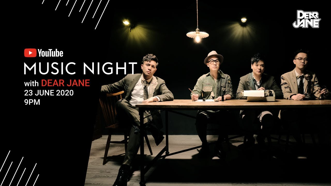 YouTube Music Night with Dear Jane