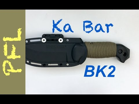 I Love This Knife! Ka Bar BK2: Unboxing, Testing, and Mods