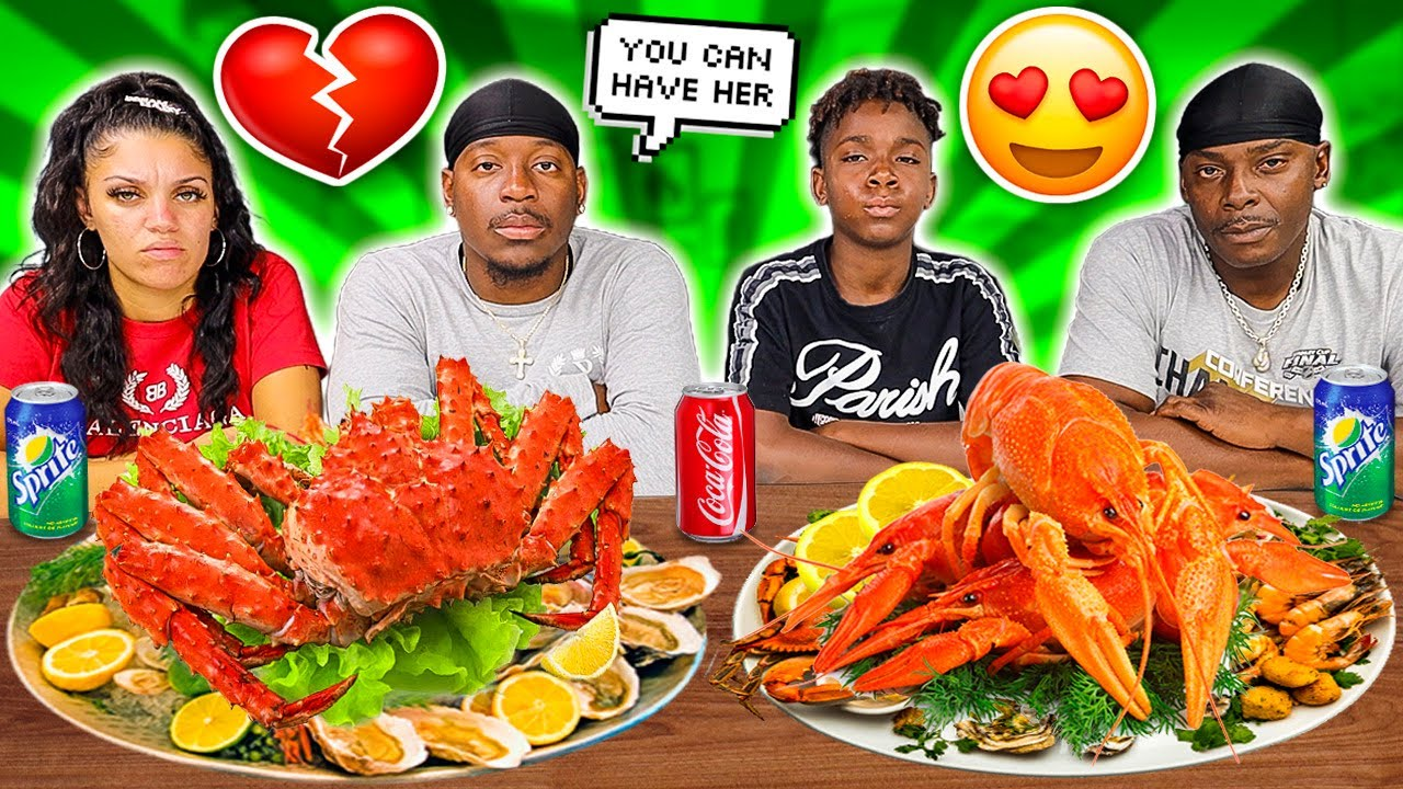 EXPOSING BIANNCA & MY BROTHER DARION SECRET RELATIONSHIP 💔😭 (KING CRAB SEAFOOD BOIL MUKBANG)