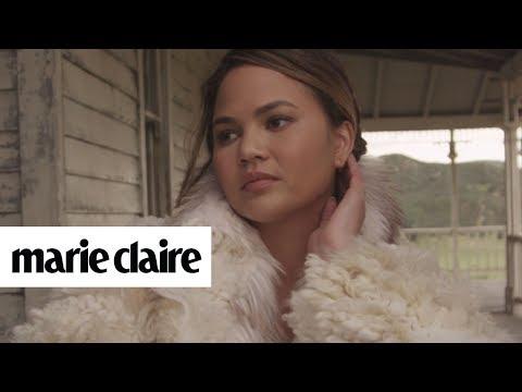Chrissy Teigen | Behind the Scenes | Marie Claire