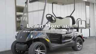 2013 Yamaha DRIVE Street Ready PTV EFI Gas Golf Cart Black Onyx