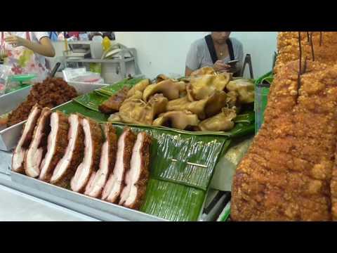 Kamphaeng Phet Market, Bangkok, People, Food & More.