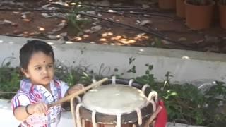 Kannan rocks with singari melam