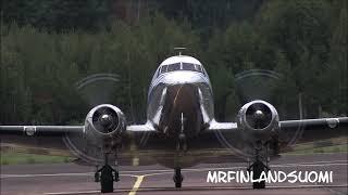 Skytrooper Douglas C53C Landing At Åland Mariehamn 27 08 2021