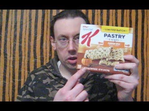 Special K Pumpkin Spice Pastry Crisps Review