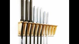How Make Vertical Hanging Barbell Rack