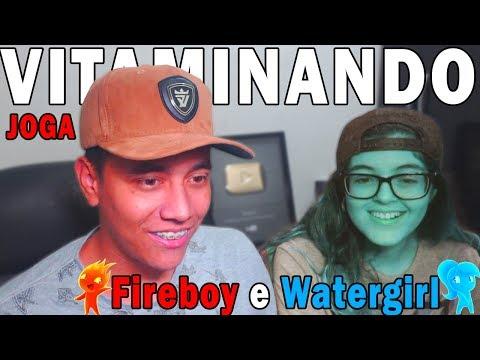 Fireboy & Watergirl 2 in Light Temple ( VITAMINANDO JOGA ) Ep. 2