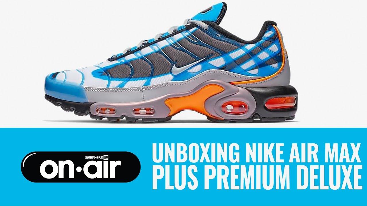 SBROnAIR Vol. 121 Unboxing Nike Air Max Plus Premium Deluxe #piranomeuair