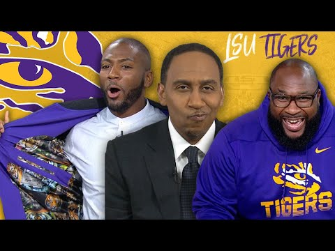 Stephen A. Pays The Price For Doubting LSU All Season | College Football On ESPN