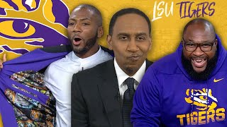 Stephen A. pays the price for doubting <b>LSU</b> all season | College ...