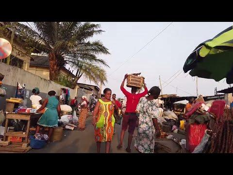 A Walk Through The Adabraka In Accra, Ghana