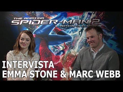 The Amazing Spider-Man 2: Intervista A Emma Stone E Marc Webb