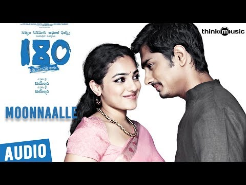 180 Songs  Telugu  Moonnaalle Song  Siddharth, Priya Anand, Nithya Menen  Sharreth