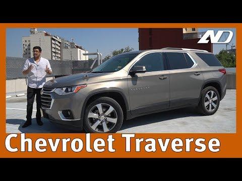 Chevrolet Traverse - El tamaño es lo que importa