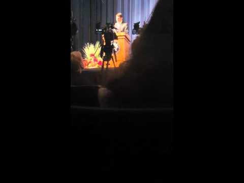 Paul Ryan speaking at Craig High School