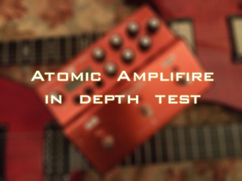 Atomic Amplifire pedal - in depth test: testing of my Atomic amps Amplifire pedal intro song by Opeth, played by POKEP1983 thru Amplifire