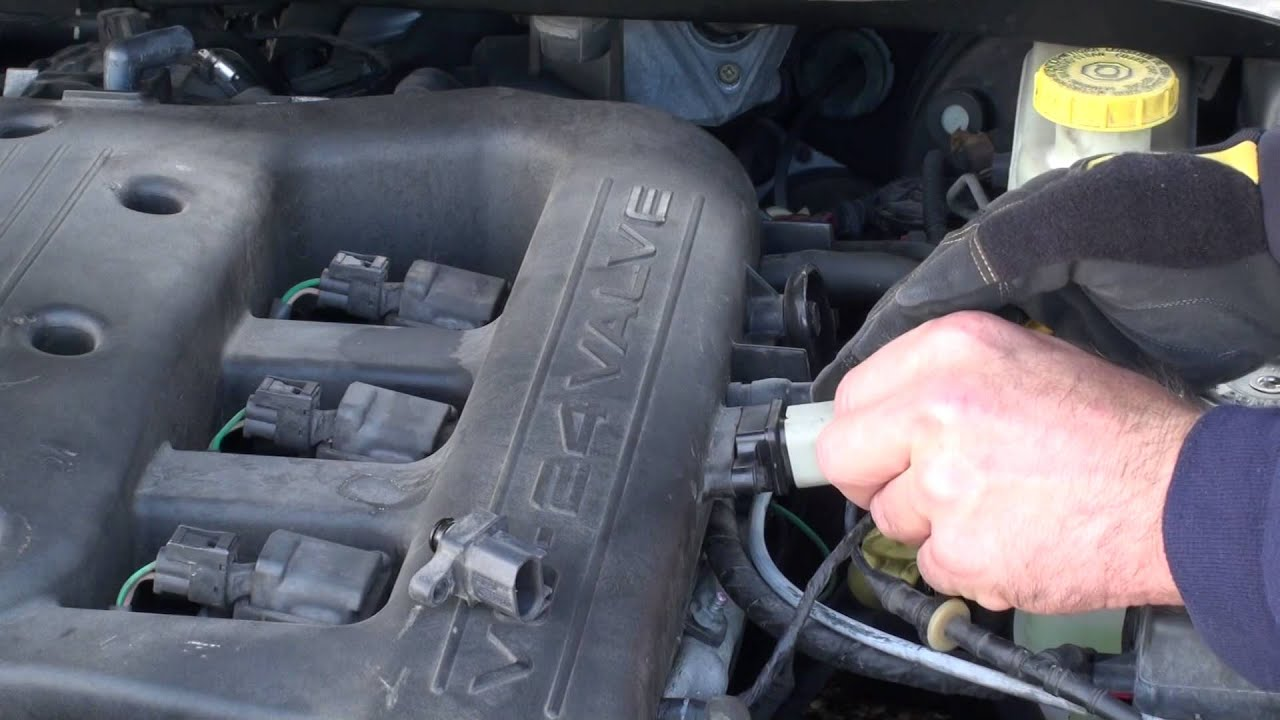 Chrysler 300 map sensor location and replacement   YouTube