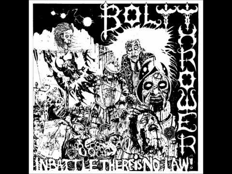 Bolt Thrower - In Battle There Is No Law (full album)