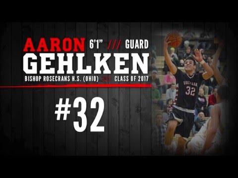 """BASKETBALL RECRUIT: Aaron Gehlken - PG/SG, 6'1"""" (Bishop Rosecrans High School - Class of 2017)"""