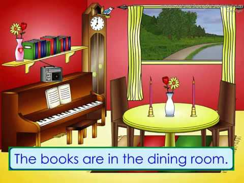 English kid vocabulary in the dining room by shamy youtube for My dining room 9 course
